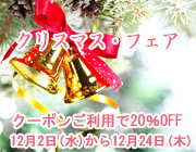 20%OFF クリスマスフェア